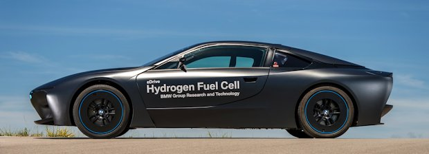 BMW i8 hydrogen fuel cell images 24